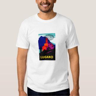 1934 Lugano Philatelic Poster T Shirt