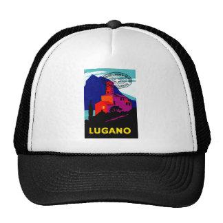 1934 Lugano Philatelic Poster Trucker Hat