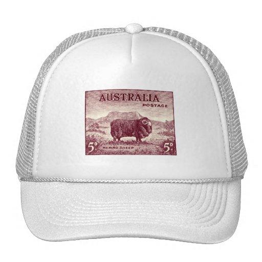 1934 ovejas merinas australianas gorro