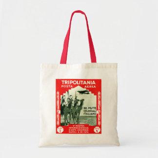 1934 Tripolitania 1 Lire stamp Budget Tote Bag
