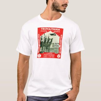 1934 Tripolitania 1 Lire stamp T-Shirt