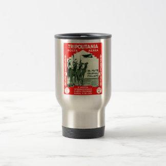 1934 Tripolitania 1 Lire stamp Travel Mug