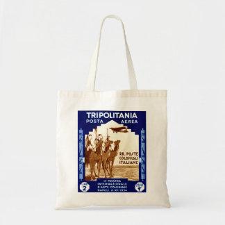1934 Tripolitania 2 Lire stamp Budget Tote Bag