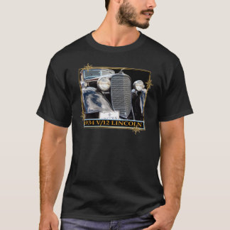 1934 V-12 LINCOLN T-Shirt
