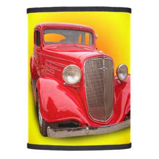 1934 VINTAGE CAR LAMP SHADE