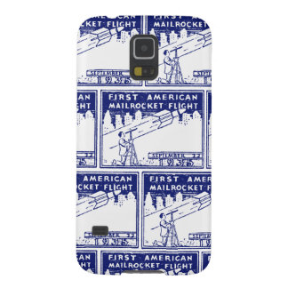 1935 American Rocket Mail Galaxy S5 Cases