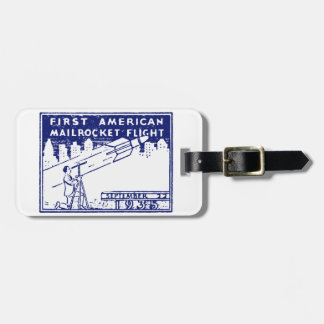1935 American Rocket Mail Tag For Luggage
