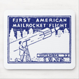 1935 American Rocket Mail Mousepad
