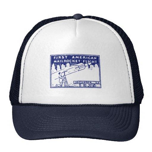 1935 American Rocket Mail Trucker Hat