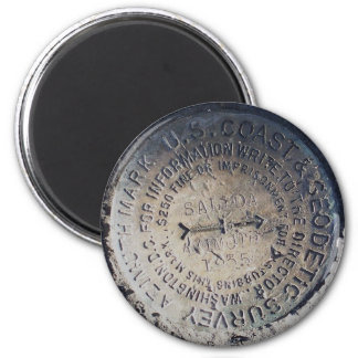 1935 Azimuth Survey Mark Magnets