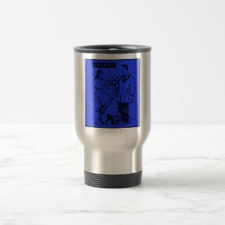 1935 Blue Chummy 15 Oz Stainless Steel Travel Mug