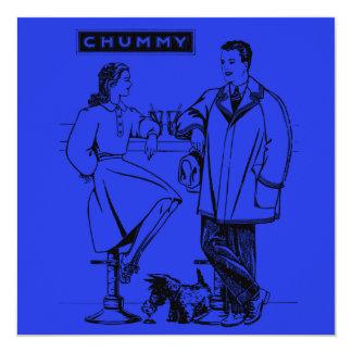 1935  Blue Chummy Announcements