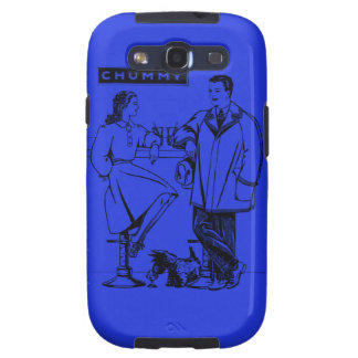 1935 Blue Chummy Galaxy S3 Covers