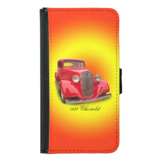 1935 CHEVROLET WALLET PHONE CASE FOR SAMSUNG GALAXY S5