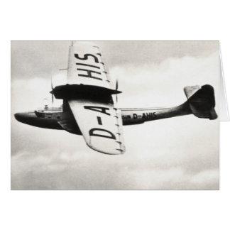1935 Dorneir Seaplane Greeting Cards