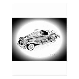 1935 Duesenberg SSJ Roadster Postcard