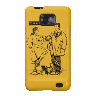 1935 Gold Chummy Galaxy S2 Case