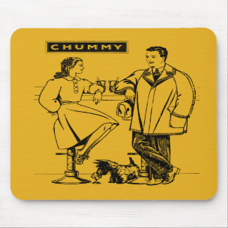 1935 Gold Chummy Mouse Pads