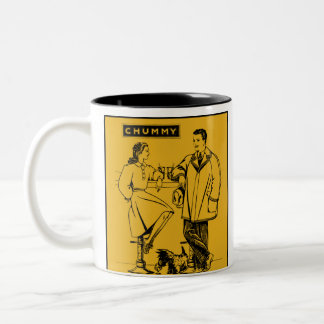 1935 Gold Chummy Mugs