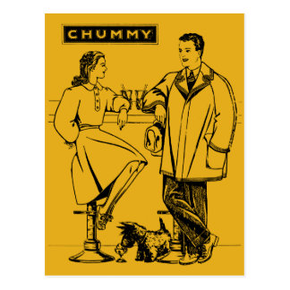 1935 Gold Chummy Postcards