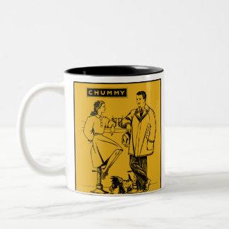 1935 Gold Chummy Two-Tone Coffee Mug