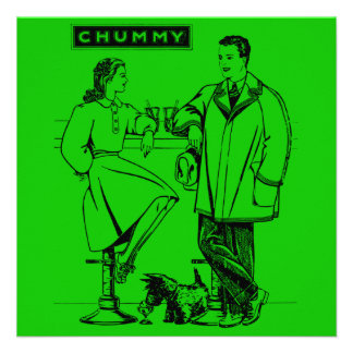 1935 Green Chummy Announcement