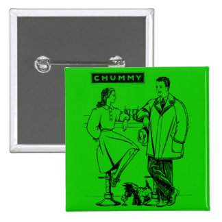 1935 Green Chummy Buttons