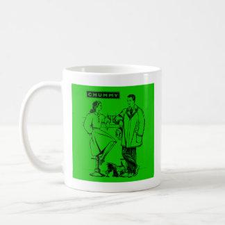1935 Green Chummy Classic White Coffee Mug