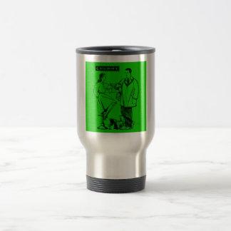 1935 Green Chummy Coffee Mug