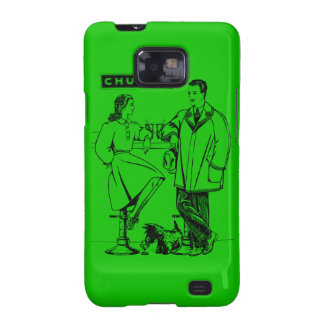 1935 Green Chummy Galaxy S2 Covers