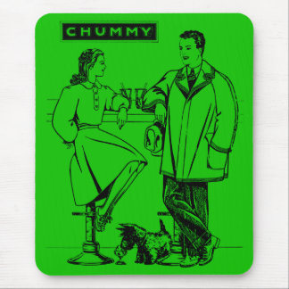 1935 Green Chummy Mousepad