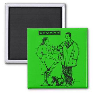 1935 Green Chummy Refrigerator Magnet