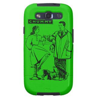 1935 Green Chummy Samsung Galaxy SIII Covers