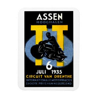 1935 International Motorcycle Races Magnet