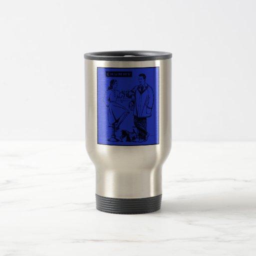 1935 íntimos azules tazas de café