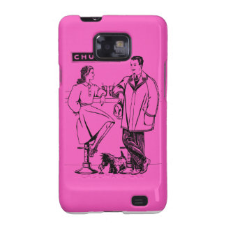 1935 íntimos rosados galaxy SII carcasa