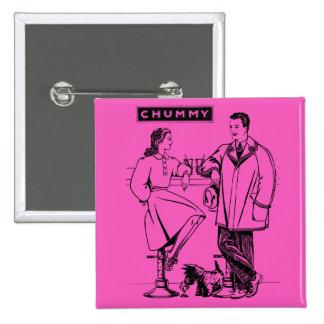 1935 íntimos rosados pins