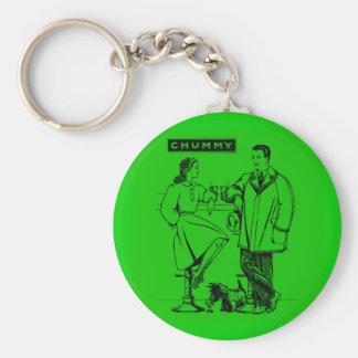 1935 íntimos verdes llavero personalizado