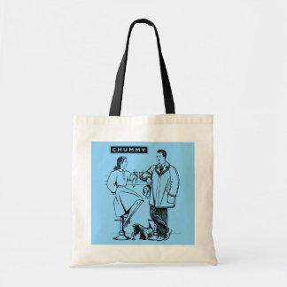 1935 Light Blue Chummy Bags