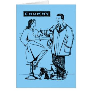 1935 Light Blue Chummy Cards