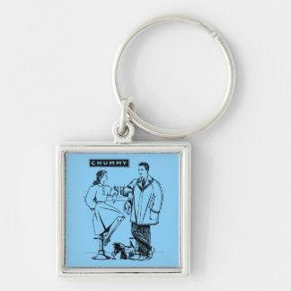 1935 Light Blue Chummy Keychain