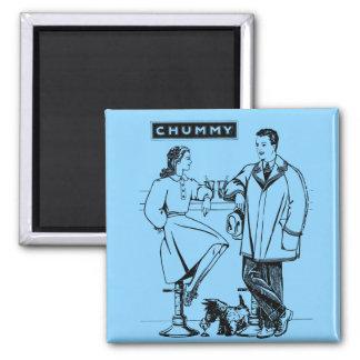 1935 Light Blue Chummy Magnets