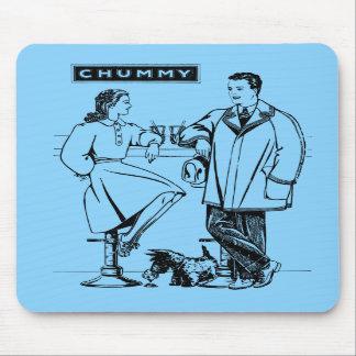 1935 Light Blue Chummy Mouse Pad