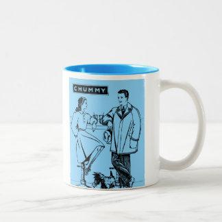1935 Light Blue Chummy Mugs