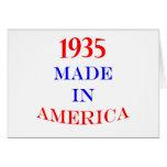 1935 Made in America Card