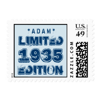 1935 or Any Year Birthday Limited Edition 80th V2Z Stamp