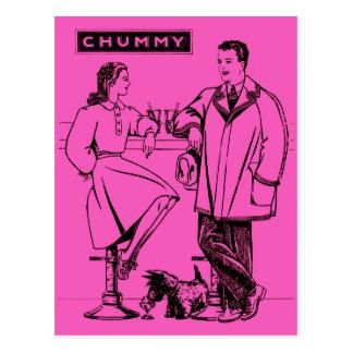 1935 Pink Chummy Postcards