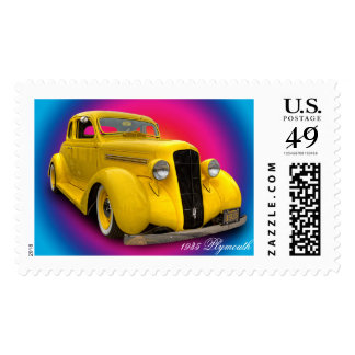1935 PLYMOUTH POSTAGE
