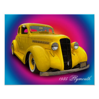 1935 PLYMOUTH POSTER