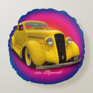1935 PLYMOUTH ROUND PILLOW
